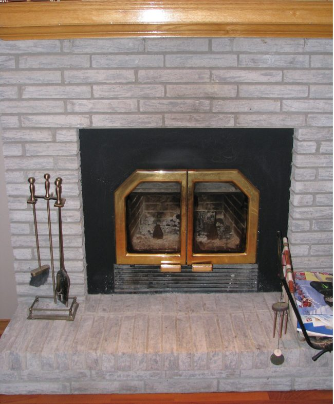 Update a fireplace