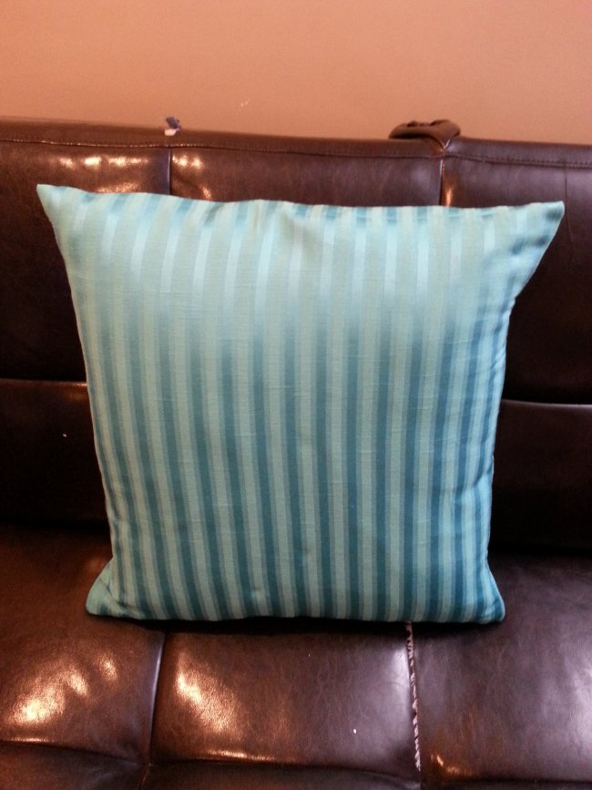 DIY envelope cushion cover