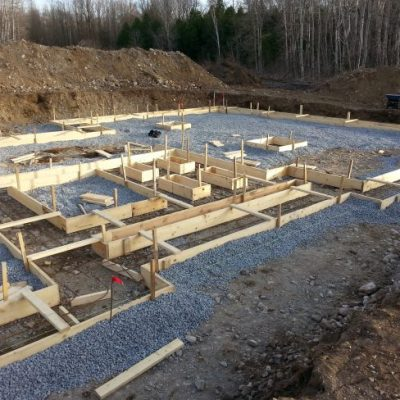 Week 1: How to form and pour foundation footings