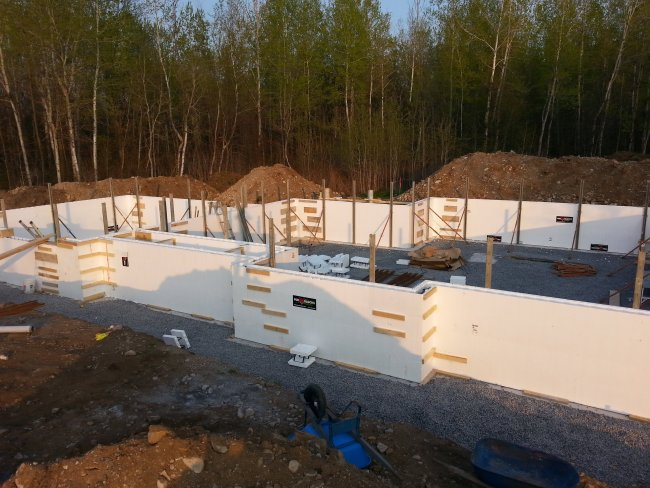 Fox block insulated concrete forms
