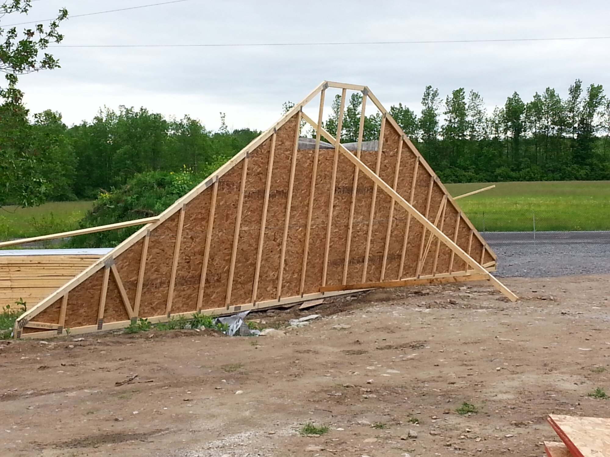 trusses for a raised bungalow