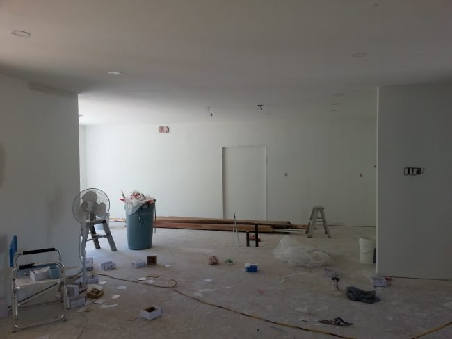 new drywall raised bungalow