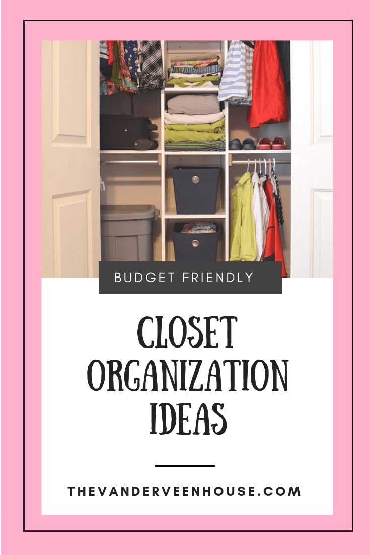 custom closet with built in shelving