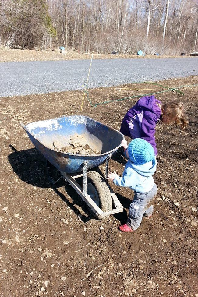 Rocking picking new construction