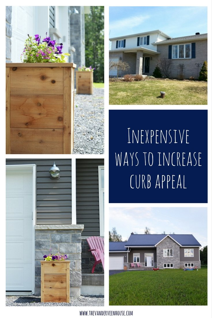 6 inexpensive ways to increase curb appeal the vanderveen house Home selling four diy tricks to maximize the curb appeal