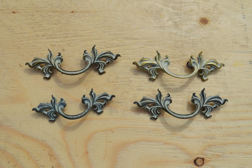 French provincial dresser hardware