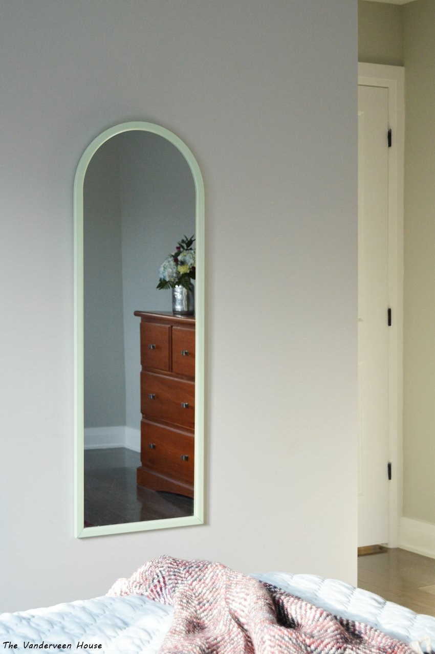 lime green mirror