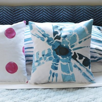 Master Bedroom Linens and Pillows: One Room Challenge Week 5