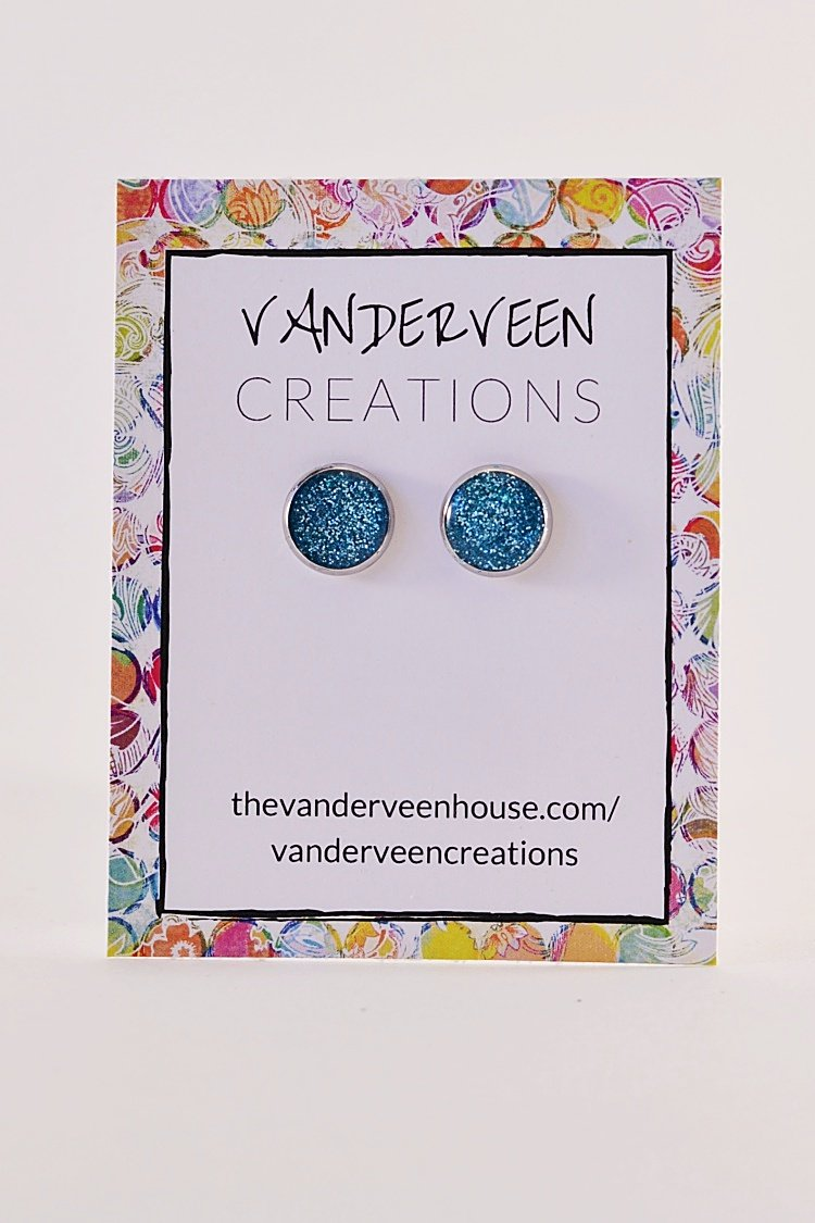 earrings of colored frost patterns crystal en pandora stud multi