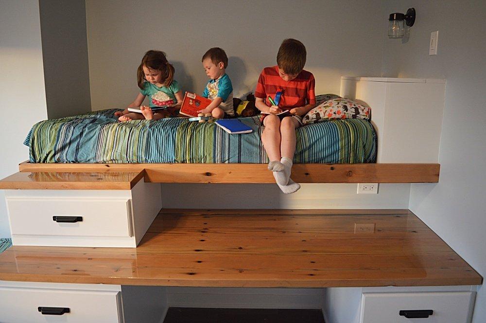 shared boys bedroom makeover