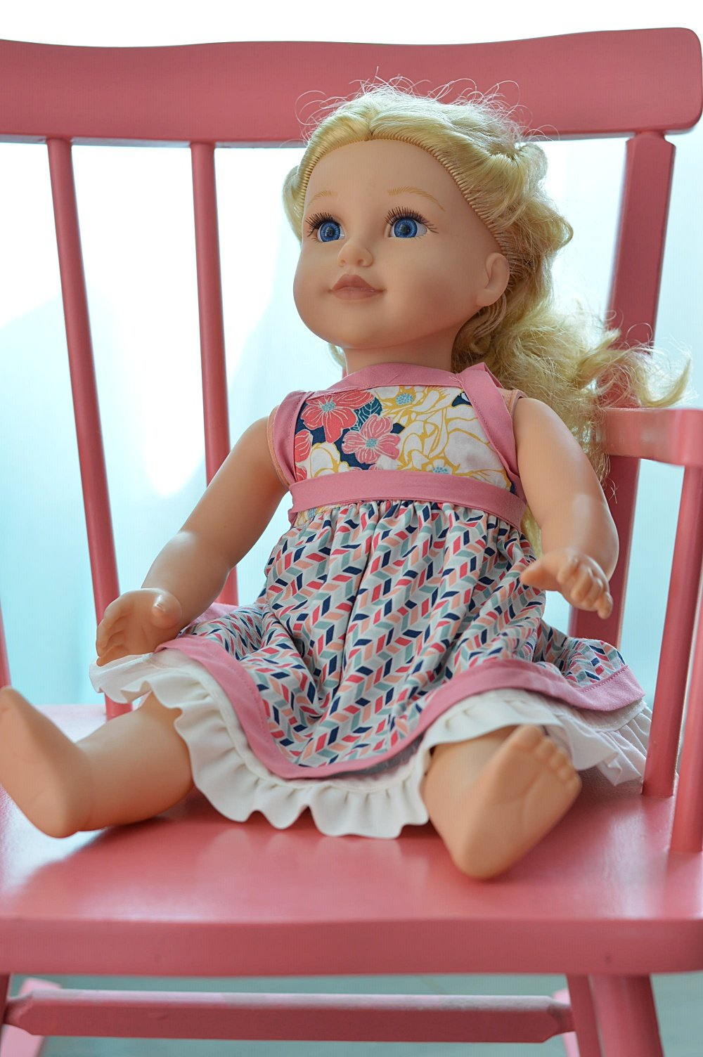 american doll clothes pattern