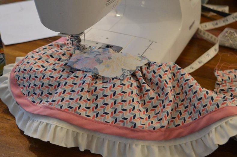 american girl reversible wrap dress sewing pattern