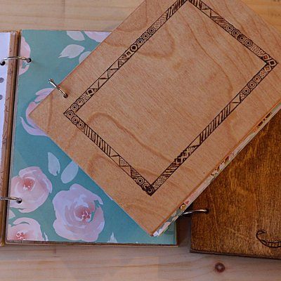 How to make your own wooden notebook