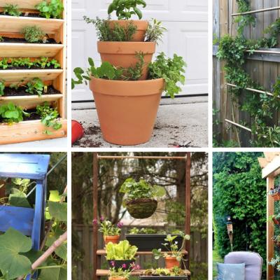 11 Amazing DIY Vertical Garden Ideas
