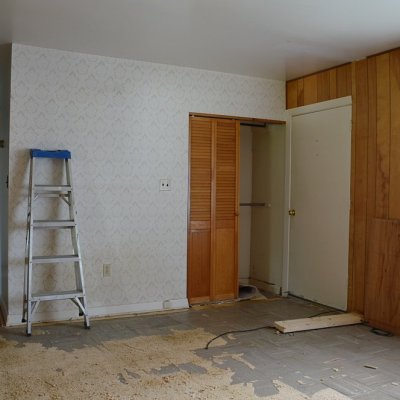 Week 1: Starting the rental house renovation