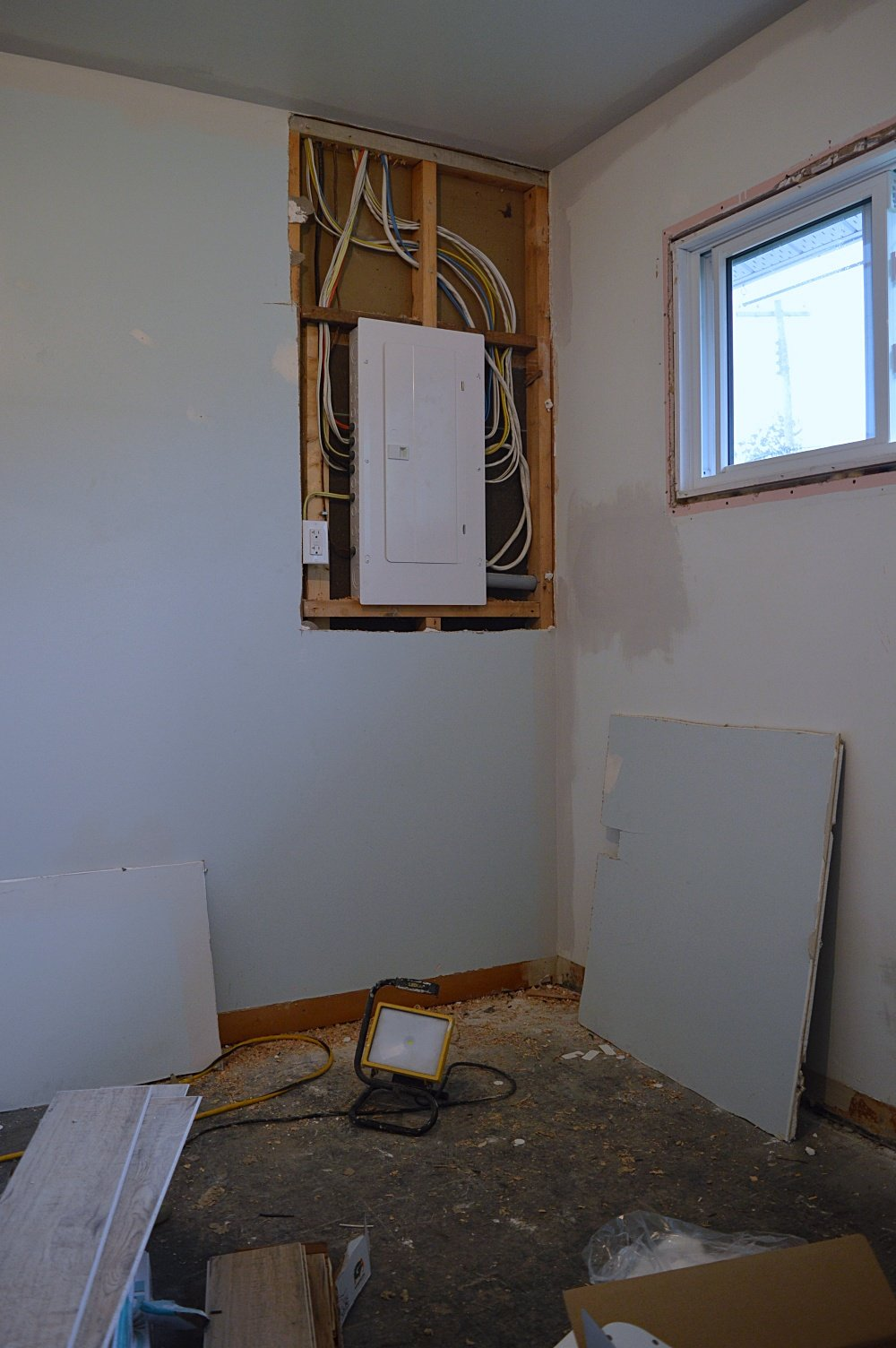 rental property upgrade electrical