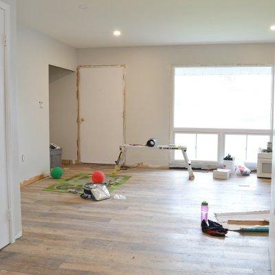 Week 10: Vinyl plank flooring