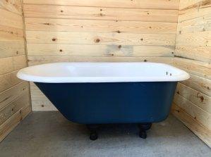 how to refinish a clawfoot cast iron bathtub