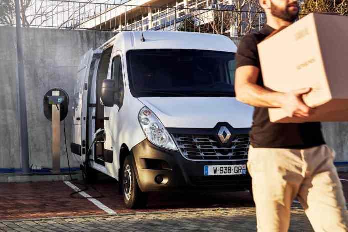 New Renault Master ZE