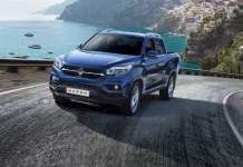 SsangYong Musso pick-up unveiled