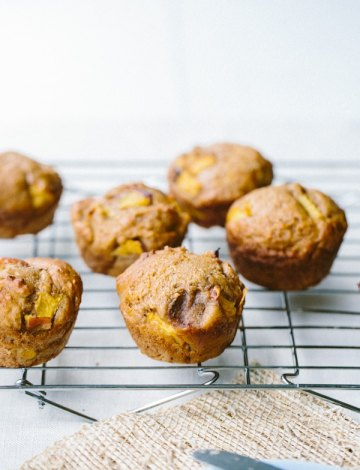 Honey Peach Muffins from The Vanilla Bean Blog
