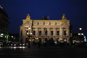 L'Opera at night. We came full circle!