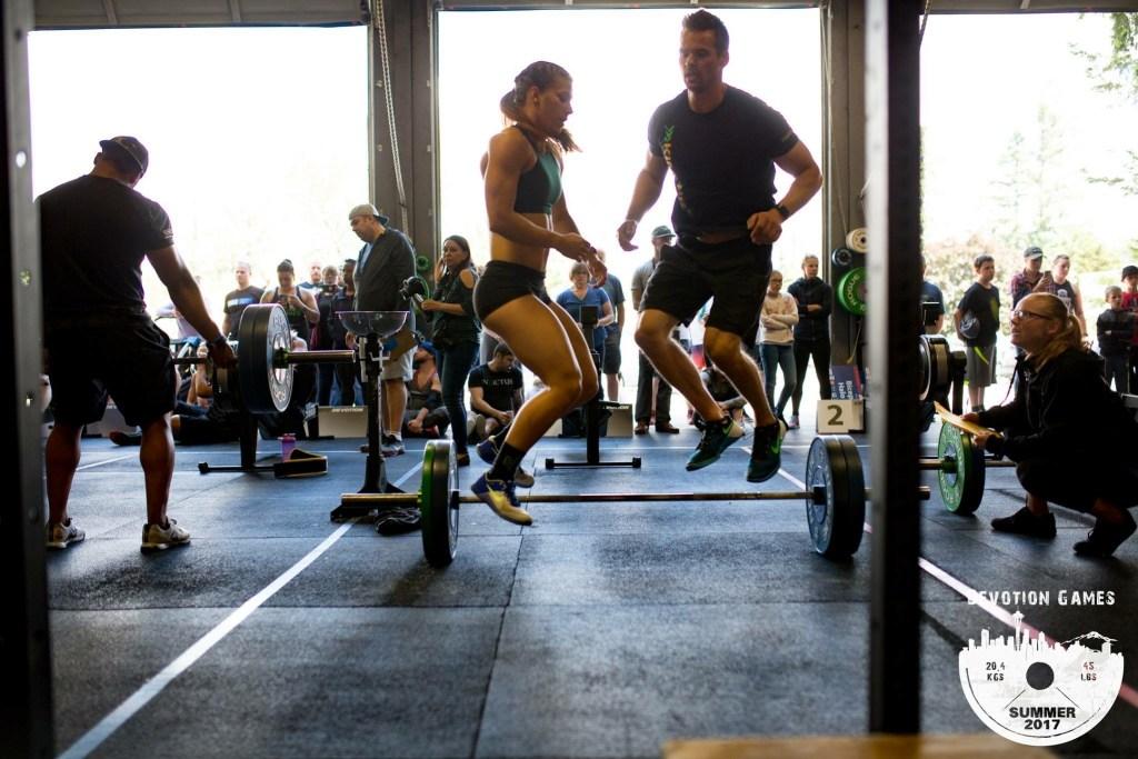 Joe (allaroundjoe) and Emily Kramer competing at the Devotion Summer Games