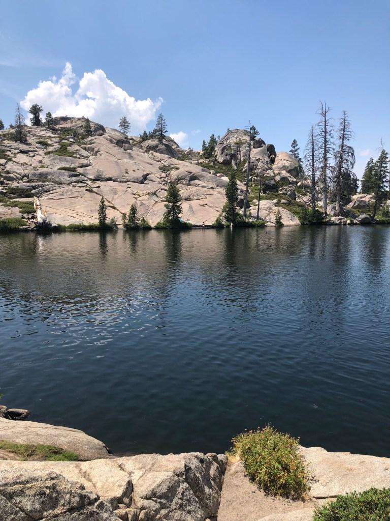 Lake Margaret swimming hole