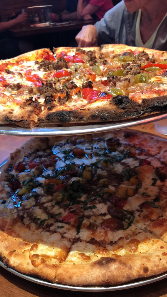 Pies at Hand Fire Pizza in Jackson Hole WY