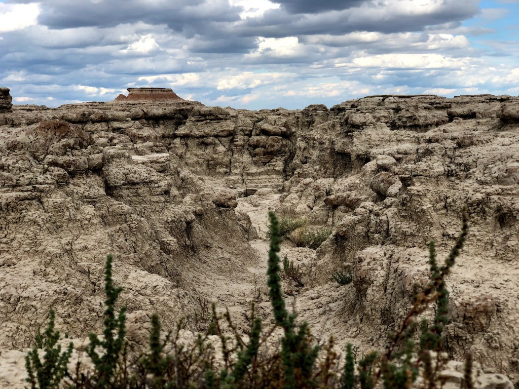 Badlands National Park trail system