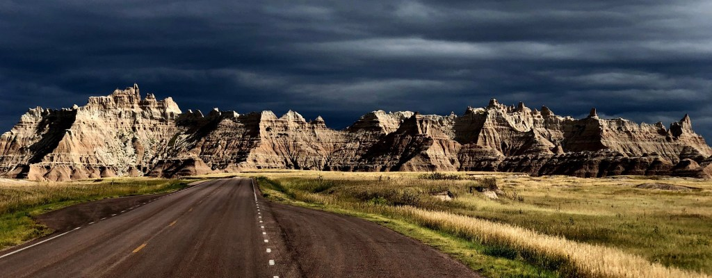 The Badlands National Park aka the Radlands