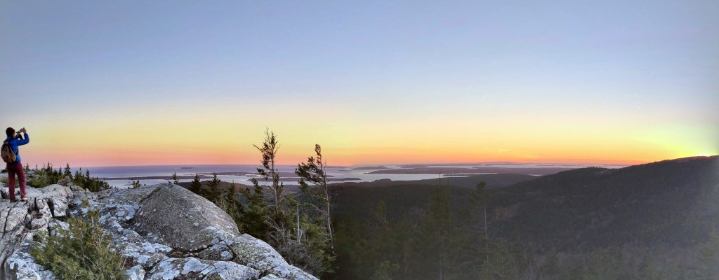 Acadia National Park… and Lobster Rolls!