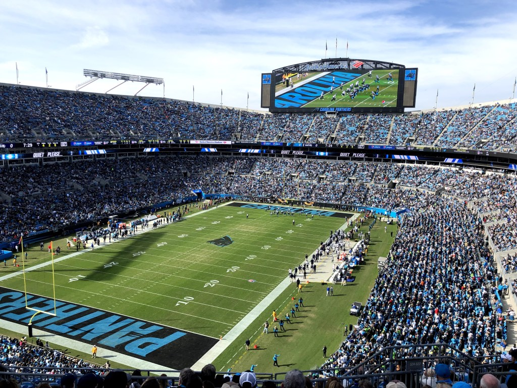 In Charlotte one of the highlights was the Seahawks game