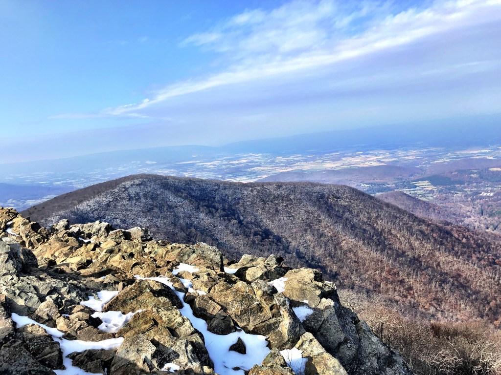 Shenandoah National Park mountain views