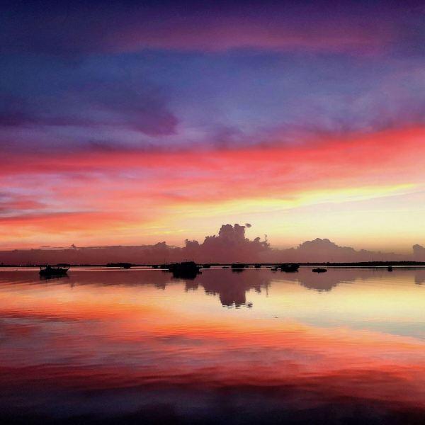 Amazing sunset in Key West