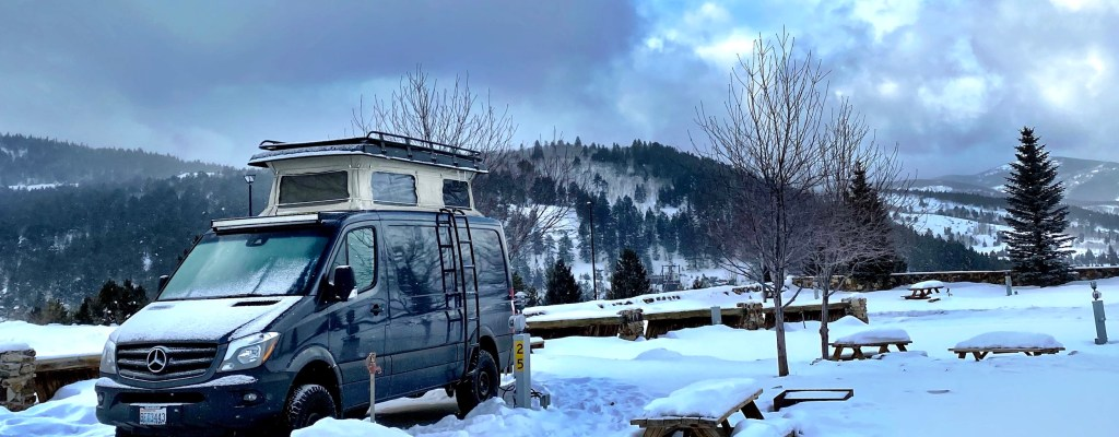 RV Camping Near IKON Pass Ski Resorts