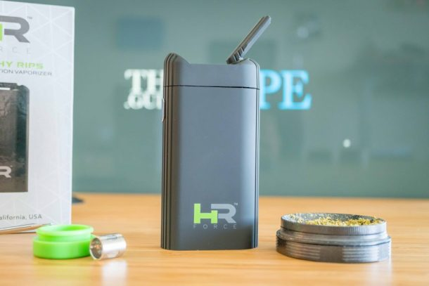 Healthy Rips Force dry herb vaporizer review