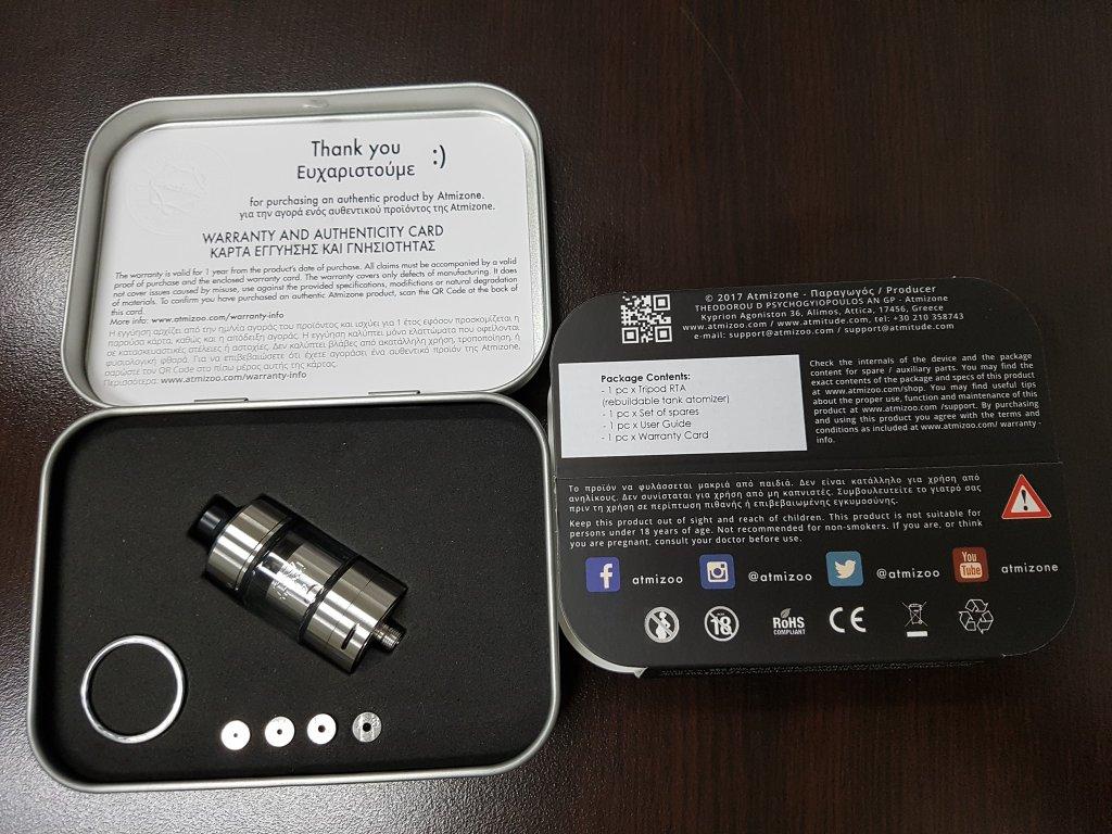 Atmizoo tripod kit