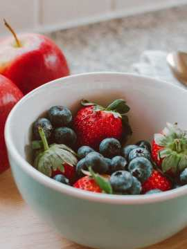 Berries and Apple