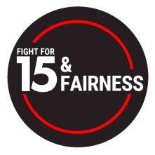 Image result for fight for 15 and fairness