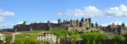 languedoc carcassonne city