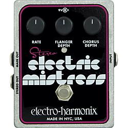 Electro-Harmonix XO Stereo Electric Mistress Flanger / Chorus Guitar Effects Pedal Standard