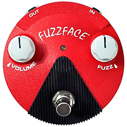 Dunlop Band of Gypsys Fuzz Face Mini Guitar Effects Pedal Standard