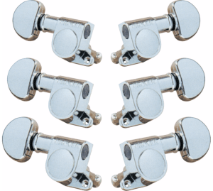 Grover-Trophy 205C 3-Per-Side Mini Tuners Chrome