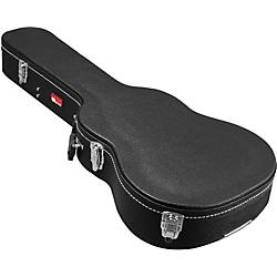 Gator GWE-Acou-3/4 Hardshell 3/4-Size Acoustic Guitar Case Black