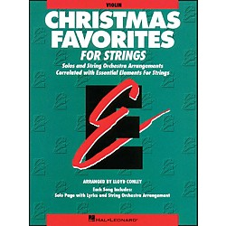 Hal Leonard Christmas Favorites Violin Essential Elements Standard