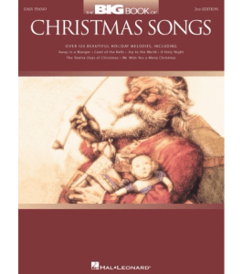 Hal Leonard The Big Book Of Christmas Songs For Easy Piano 2nd Edition Standard