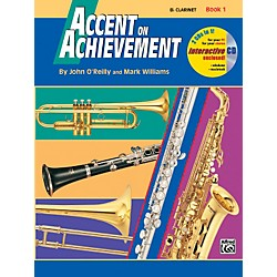 Alfred Accent on Achievement Book 1 B-Flat Clarinet Book & CD Standard