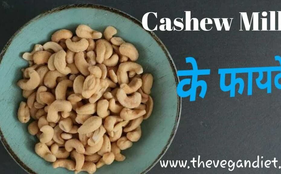 Vegan cashew milk recipe in Hindi - काजू का दूध कैसे बनाते है?