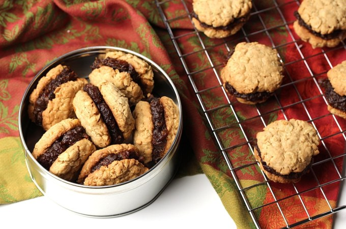 picture of cookies in a tin and on a cooling rack